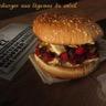Hamburger aux légumes du soleil