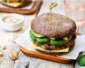 Hamburger de boeuf aux épinards