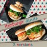 Hamburger de dinde 2 versions