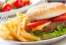 Hamburger maison rapide