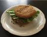 Hamburger végétal à la sauce marocaine