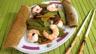 Haricots plats et gambas à la chinoise