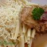 Hauts de cuisse de poulet en sauce