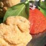 Huîtres d'Arcachon Cap-Ferret panées aux noix du Périgord crème purée de petits pois à l'estrago...