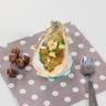 Huîtres gratinées à la chapelure de noisette et dès de pommes