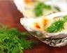 Huîtres gratinées au sabayon de champagne