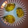 Huîtres gratinées fondue de poireaux