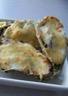 Huîtres gratinées sur fondue de poireau