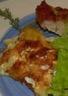 Jambon braisé au four et gratin dauphinois
