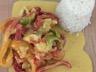 Joues de lotte sauce thai