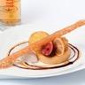 La figue l'orange et le piment de Jamaïque 'La figue rôtie façon Suzette pain de gênes réductio...