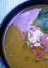 La soupe de petits pois cassés
