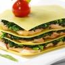 Lasagne au saumon et chèvre frais