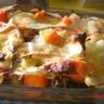 Lasagne chou aux légumes d'automne