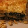 Lasagne épinards ricotta et pignons