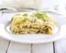 Lasagnes aux courgettes crème et chèvre