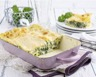 Lasagnes crémeuses aux épinards