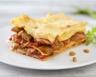 Lasagnes de haricots plats et jambon de Parme