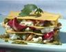 Lasagnes végétariennes au Pesto et fromage de chèvre