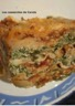 Lasagnes végétariennes aux épinards poivrons et noix