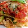 Lasagnes végétariennes aux légumes & tofu