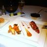 Le homard bleu rôti aux olives cannelloni de ses pinces et jus coraillé du Chef Philippe Bohrer