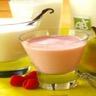 Le milk-shake aux poires ou fruits rouges
