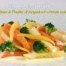 Légumes anciens à l'huile d'Argan et au citron confit