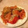 Légumes méditerraneens farcis à la viande hachée