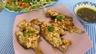 Limandes et sa salade de pousses de bambou et graines germées