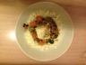 Lotte mijotée au curry de légumes