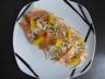 Ma salade de fenouil à l'orange et au saumon fumé