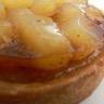 Ma tarte aux pommes-poires caramélisées -amande
