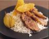 Magret de canard au thé et à l'orange
