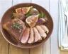 Magret de canard aux figues sauce au vin blanc