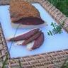 Magret de canard séché maison en croûte d'épices aborigènes