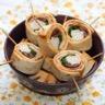 Maki-Wrap au poulet tomates séchées et roquette