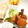 Manchons de poulet sauce au yaourt grec