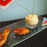 Menu pour les petits ! Nuggets de poulet panés aux corn flakes et son velouté de courgettes à la ...