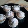 Mes muffin's à la crème de marron coeur fondant crème de marron...