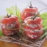 Mille-feuille de tomate au thon