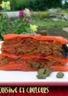 Mille-feuilles de poivron rouge farci au thon