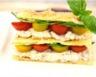 Mille-feuilles de thon au St Môret® Ligne & Plaisir® et tomates cerise tricolores