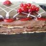 Mille feuilles fraises chocolat