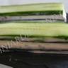 Millefeuille de concombre au fromage frais