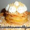 Millefeuilles de crêpes façon tarte au citron meringuée