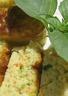 Mini cakes au basilic et surimi