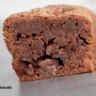 Mini cakes au chocolat noir fleur de sel et pépites de chocolat au lait