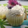 Mini cupcakes au surimi et à la moutarde à l'ancienne