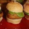 Mini hamburger au poulet